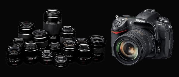фотоаппарат никон с объективами