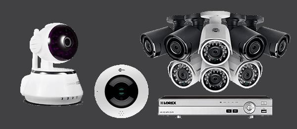 камеры купольные и настенные с видеорегистратором