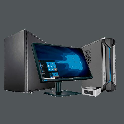 офисные компьютеры с монитором
