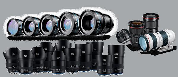 профессиональные объективы для фотоаппаратов