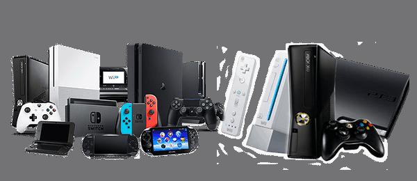 игровые приставки мобильные и домашние