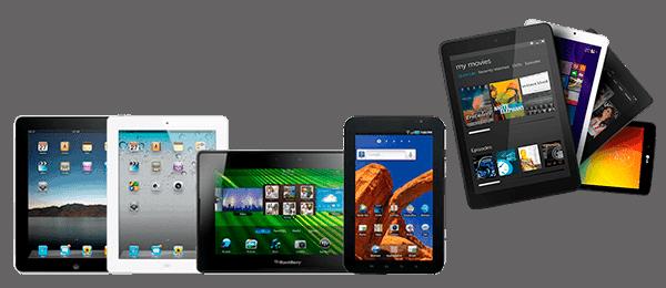 планшеты android и apple