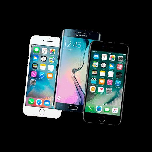 телефоны андроид и айфон
